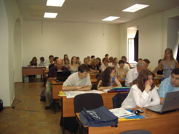 Training Course on the Nowcasting and forecasting of the marine dynamics, NATO Caspian Sea Project, Sevastopol, Ukraine, July 2006
